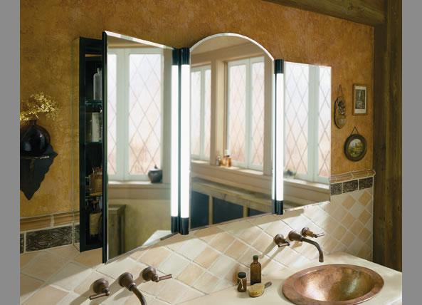 Bathroom Medicine Cabinet Mirror With Electrical