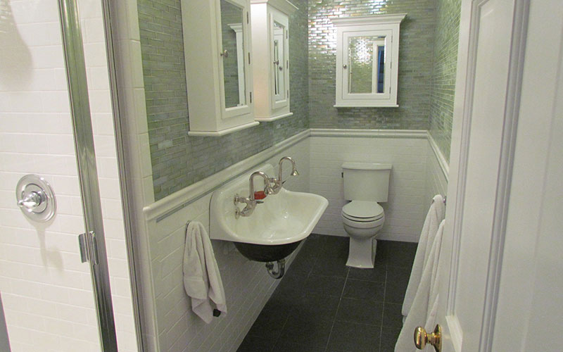 Galley Style Bath Remodel